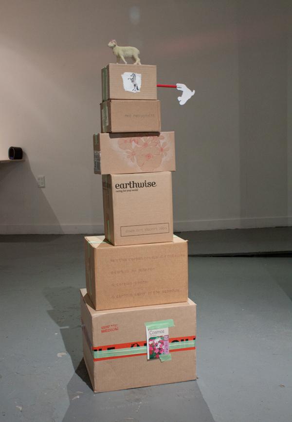 Jill Sorensen, A Pile of Boxes  Affirmative Rejoinder