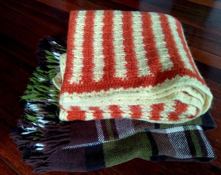 blanket pile